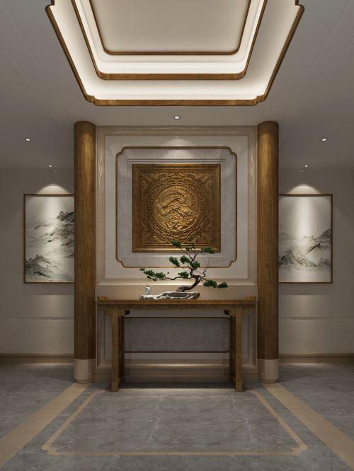 中式别墅设计:仁山智水