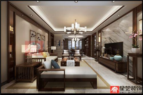 贵阳南岳大院装修设计,现代中式也很美!