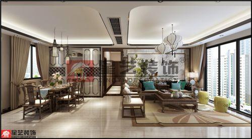 贵阳美的林城时代装修,年轻人推崇的新中式风格!