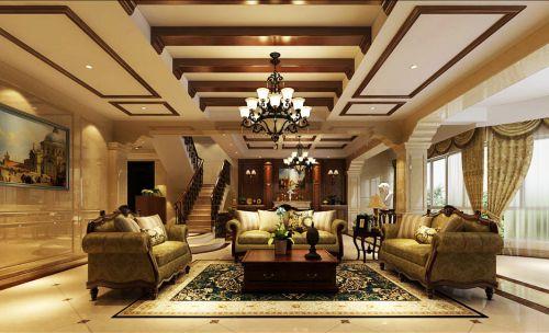 贵阳别墅装修设计,乐湾国际业主选择美式风格仅爱好!