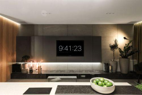 超现代感小公寓设计