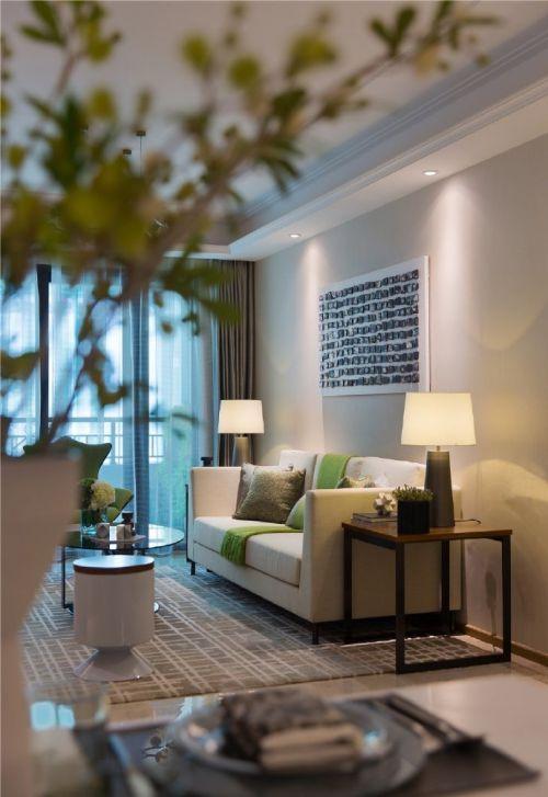 咸阳金科世界城三室两厅现代小清新装修设计