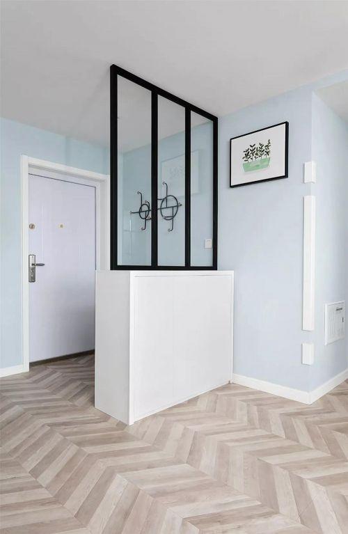 山水绿城93㎡清新北欧两居风装修案例