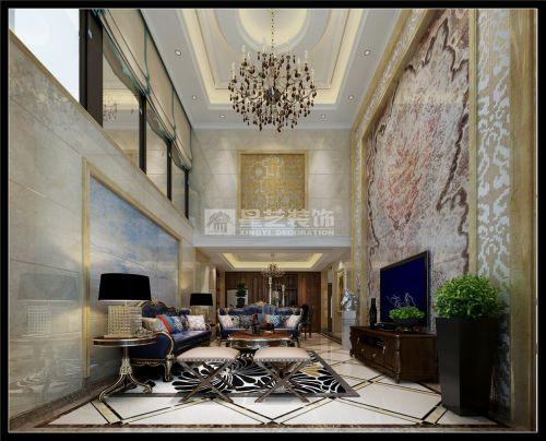 保利凤凰湾4室3厅280平米美式风格