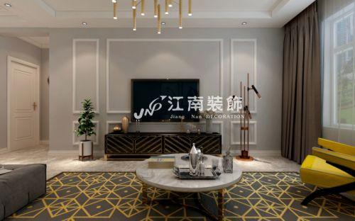 中海文昌公馆现代风格装修效果图