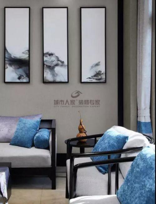 中式风格轻松自然的配色爱上中式风
