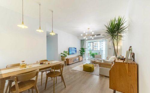 日式清新三居室,温暖质朴纯粹的空间