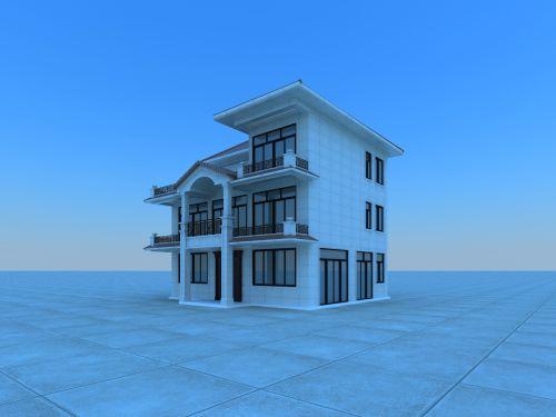廣西容縣自建房建築設計
