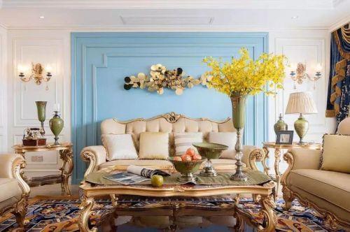 法式浪漫风,每一寸空间里都充满精致和优雅气质