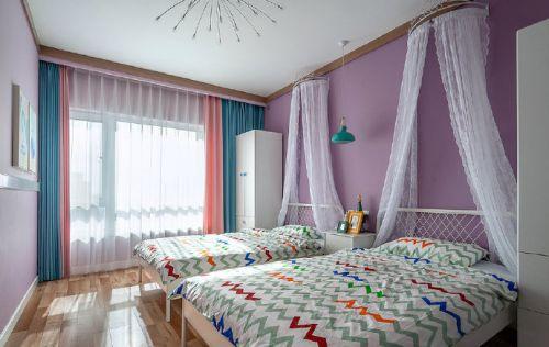 简约北欧风三居室装修设计,多彩但不炫目的温暖空间!