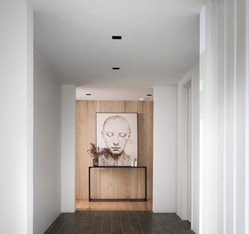 太原独特一家富力华庭240平米原木风格装修案例