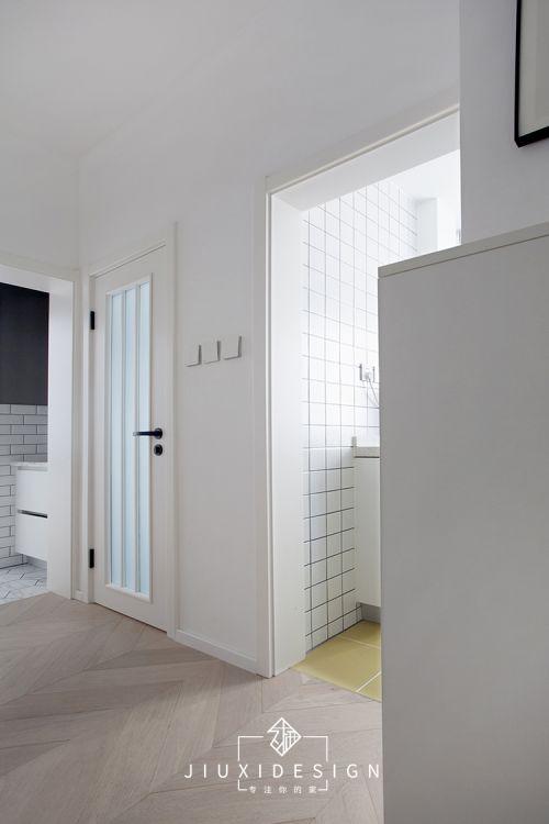 书房卧室结合,外置洗手盆营造室内中厅,打造老城中的新人小家
