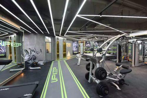 重庆UPkeep健身房装修设计案例