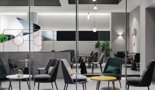 咖啡厅2室2厅450平米简约风格