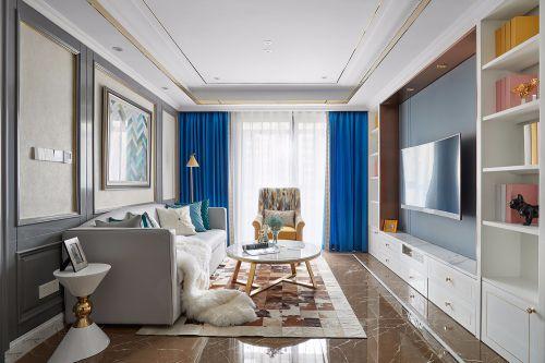 楼兰设计法式住宅装修设计效果图