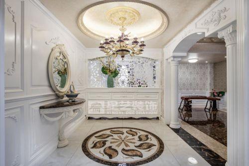 贵阳贝地卢加诺别墅设计,法式风格别墅装修实景!