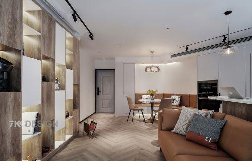 名门世家不规则户型吧台巧妙打造时尚个性的居家环境!