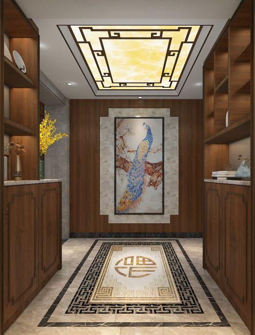 半山悦海中式家装
