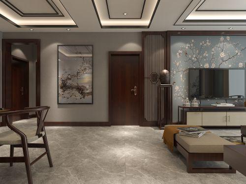 135㎡新中式风格的设计邯郸陈超