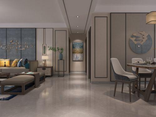 150m²新中式风格设计陈超设计