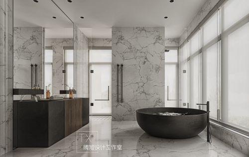 上海圣安德鲁斯庄园现代轻奢风私宅设计案例设计师腾旭