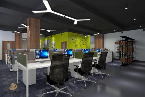 东莞办公室装修设计案例-东莞市喜鸿实业有限公司-广深艺建设