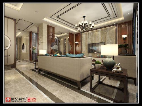 中铁碧桂园度假别墅装修,新中式风格设计分享!