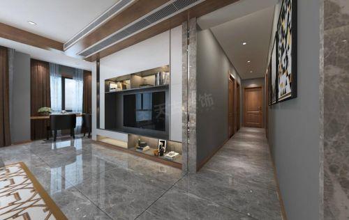 华侨城装修|华侨城洋房现代简约风格设计效果图