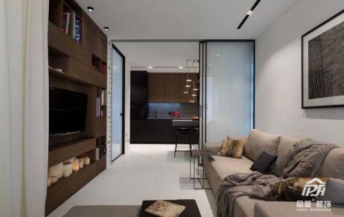 78平现代简约风格,经典时尚的住宅空间,干净利落,自然安稳