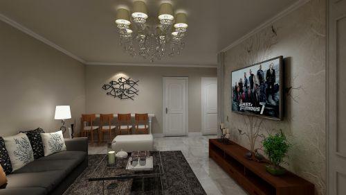 山水家园99平现代风格设计案例