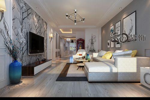 黑白灰北欧风格效果图案例