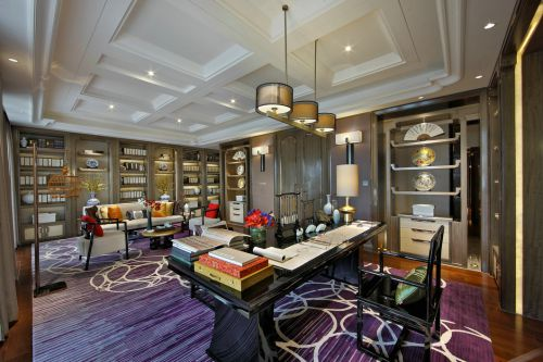 别墅设计-新中式风格