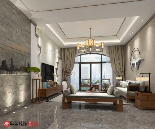贵阳碧桂园双屏别墅装修,270平给你一种新中式风格味道!