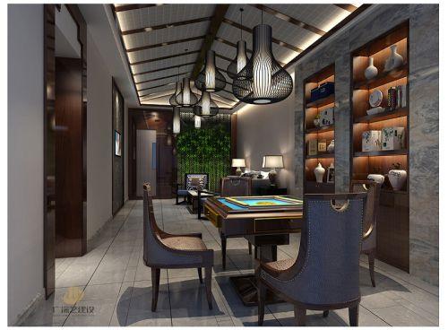深圳茶艺商铺装修设计案例-《道然茶舍》-广深艺建设