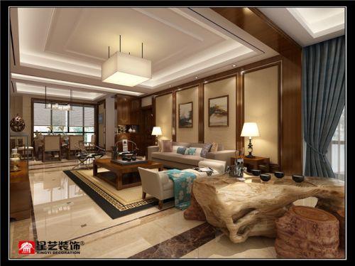 贵阳复式楼装修设计,感情细腻小夫妻喜爱的新中式!