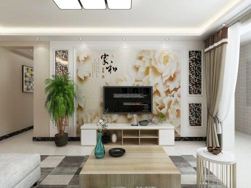 嘉州灏庭3室1厅126平米现代风格