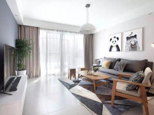 北欧风三居室,一个有品位的家!