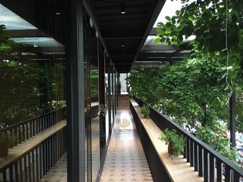 深圳餐饮装修设计案例-欢乐海岸台州菜-广深艺建设