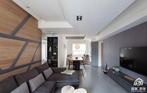 现代简约风格的三居室书房是设计是最喜欢的岁月静好