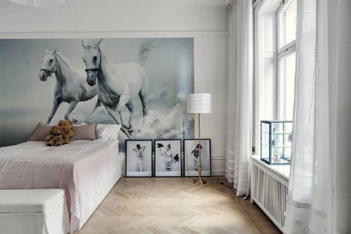 斯德哥尔摩的中性色调公寓