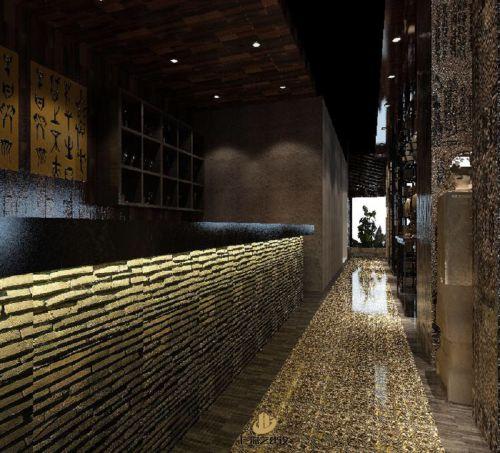 深圳餐厅装修设计-尚浙餐厅-广深艺建设