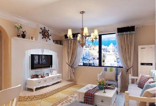 梦幻地中海,浪漫两居室