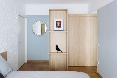 日式三居室案例,一个温馨的家