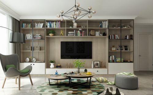 新世纪小区2室2厅98平米宜家风格
