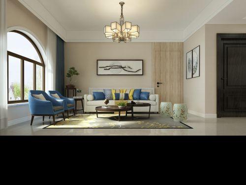星光大道3室2厅128平米混搭风格