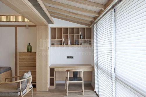 咸阳丽彩溪岸庄园四室两厅现代简约中式风