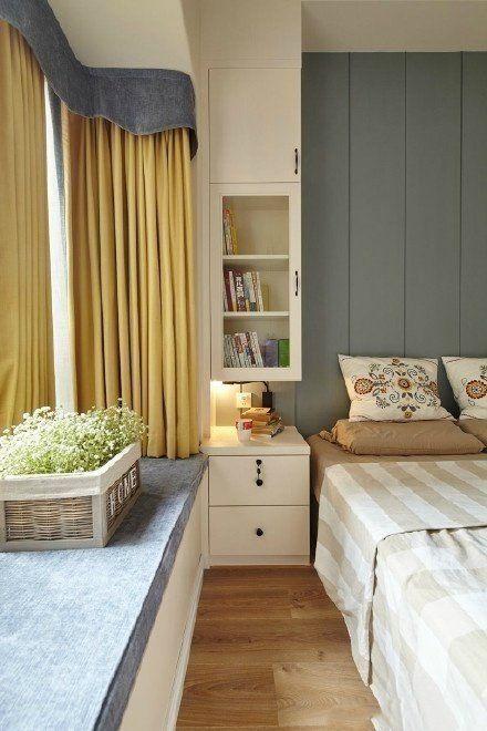 现代风格二居室小家的收纳法则。