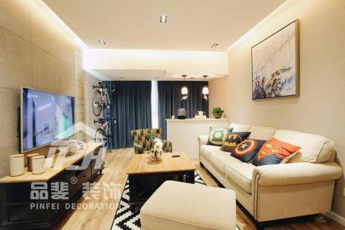 89平温馨简约风格两居室