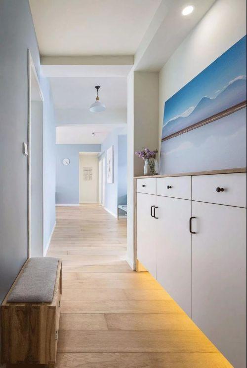山西紫苹果装饰81平米北欧风格案例