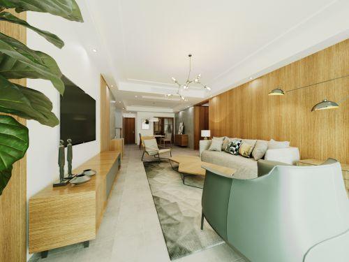 窝范家设计施工一体化项目——一个删繁就简的深圳二手房翻新改造
